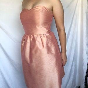 5/25 Lula Kate Cocktail Dress Pink Strapless